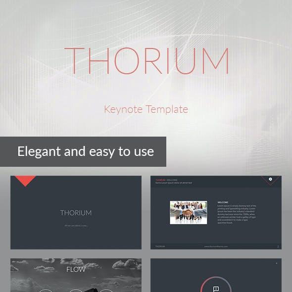 Thorium - Keynote Presentation Template