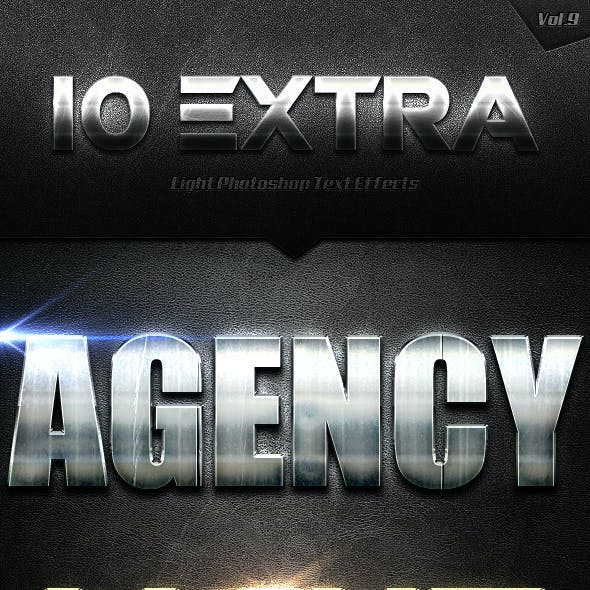 10 Extra Light Text Effects Vol.9
