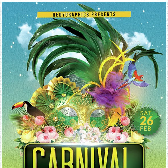 Carnival - Flyer Template