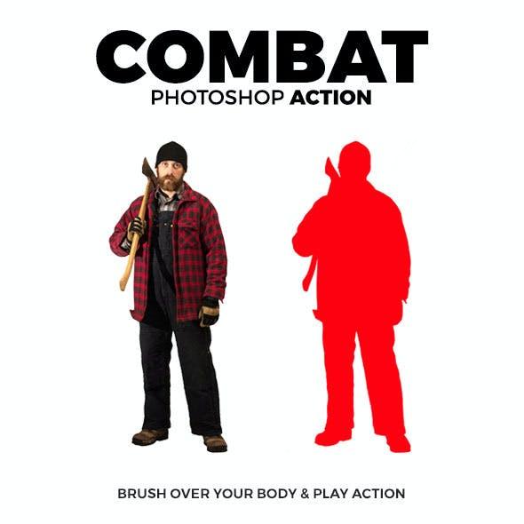 Combat Photoshop Action
