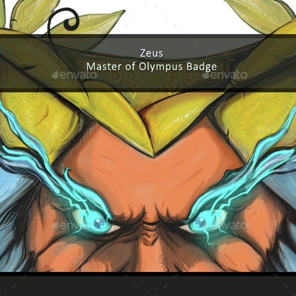 Zeus / Badge / Drawing