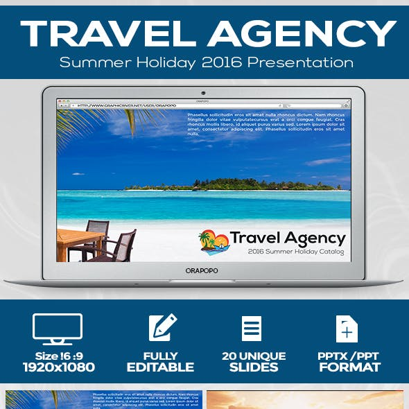 Travel Agency Presentation Template
