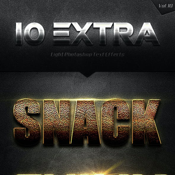10 Extra Light Text Effects Vol.10