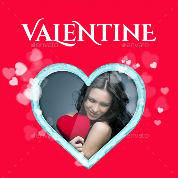 Valentine's Edition - Heart Frame Mockup