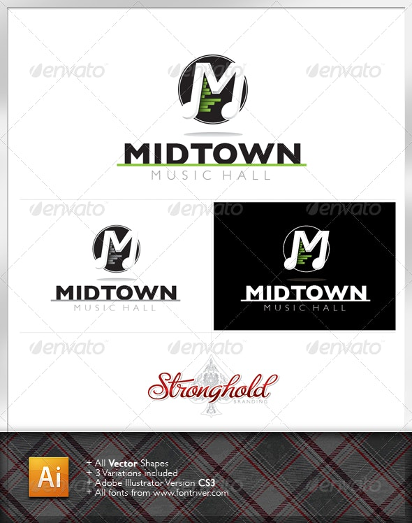 Music Systems Logo - Letters Logo Templates