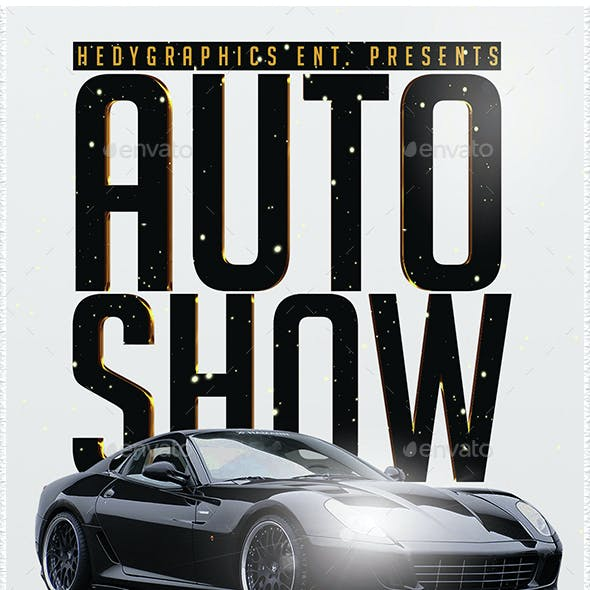 Auto Show - Flyer Template