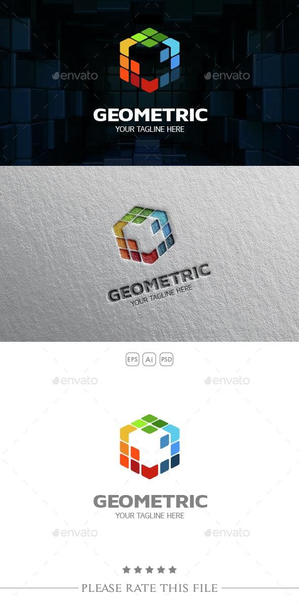 Cube Logo - 3d Abstract