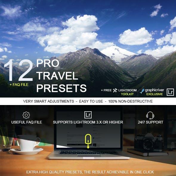 12 Pro Travel Presets