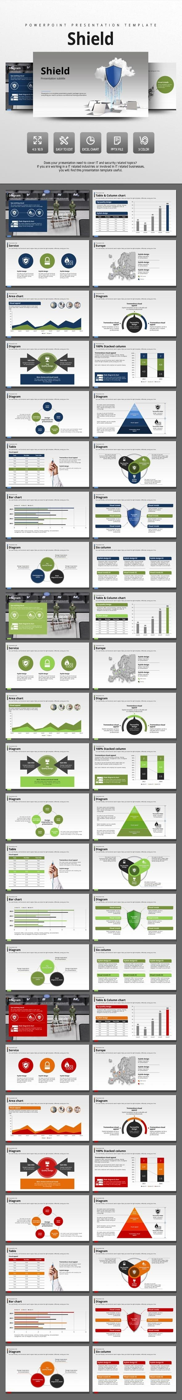 Shield - PowerPoint Templates Presentation Templates