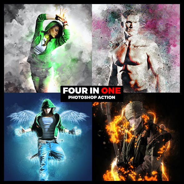 Four in One Actions Bundle 2