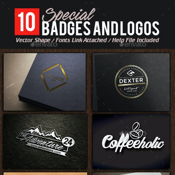 Badges and Logos