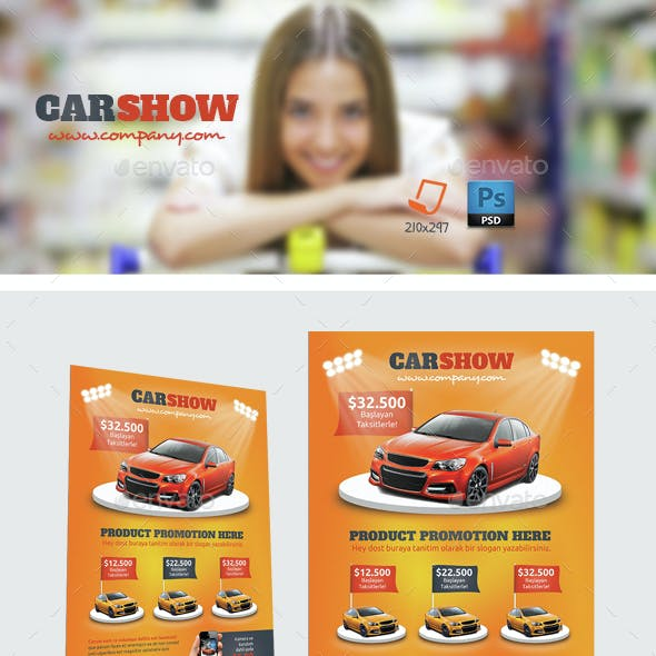 Car Show Flyer Templates