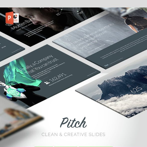 Pitch - Modern Powerpoint Template