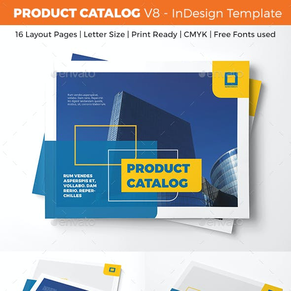 Product Catalog Template - V8