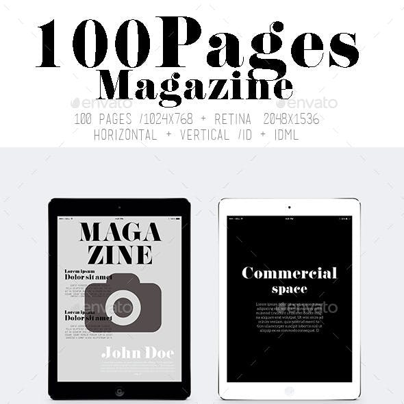 Ipad&Tablet 100 Pages Magazine