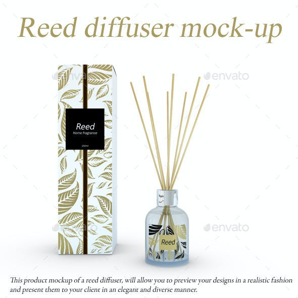 Reed Diffuser Mock-Up