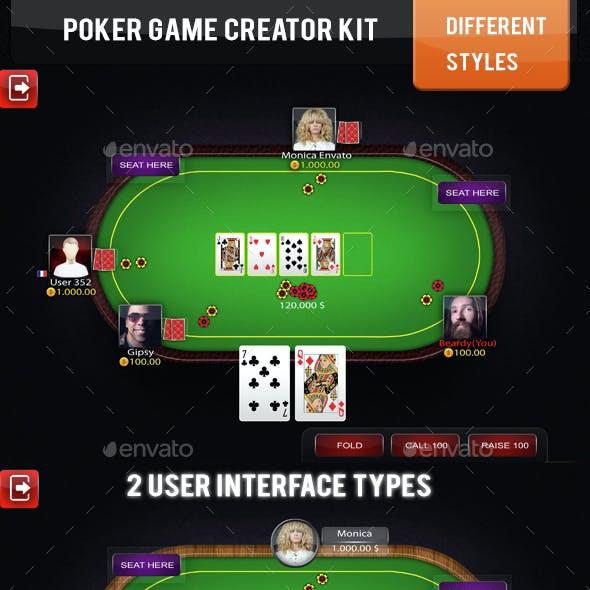 Poker Table Game Kit