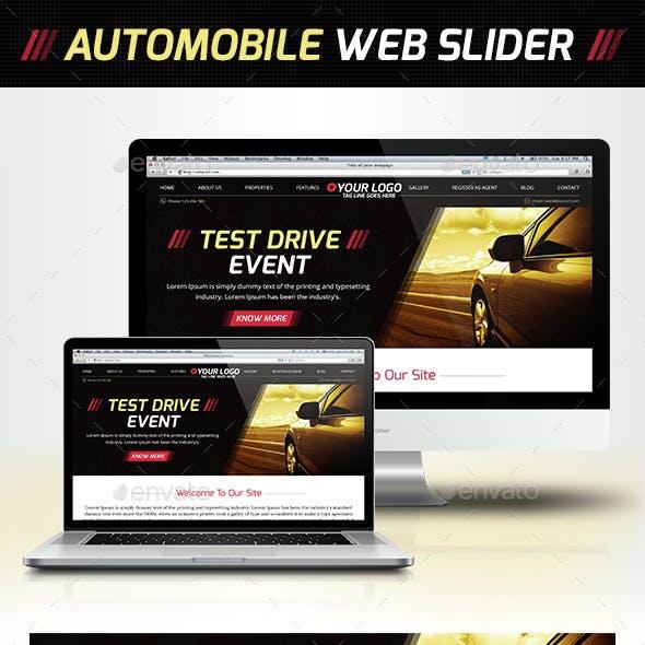 Car Web Slider