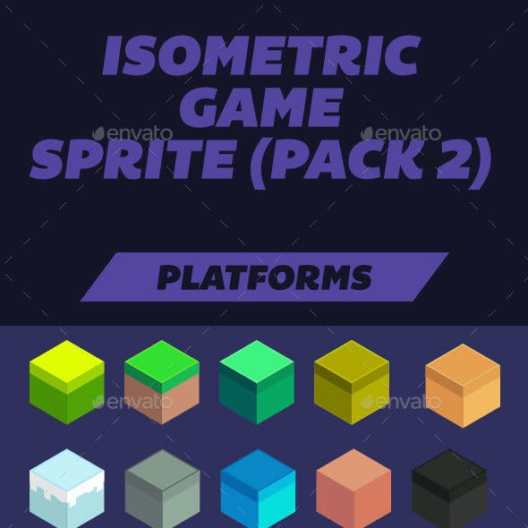 Isometric Game Assets from GraphicRiver