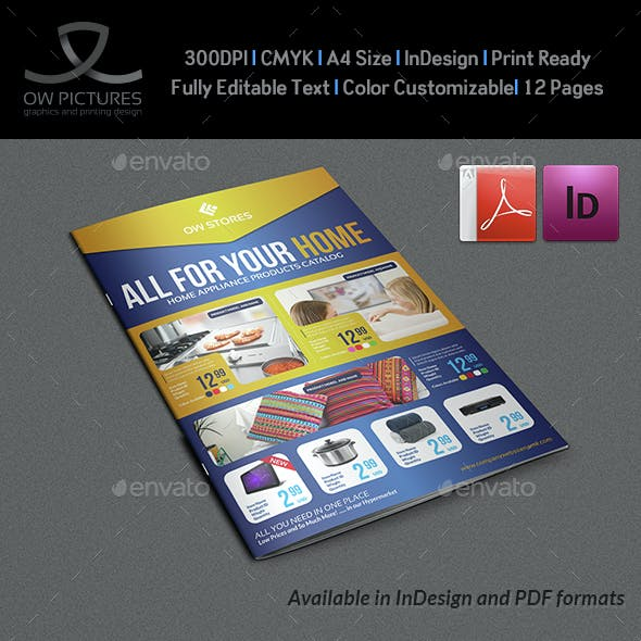 Products Catalog Brochure Template Vol3 - 12 Pages