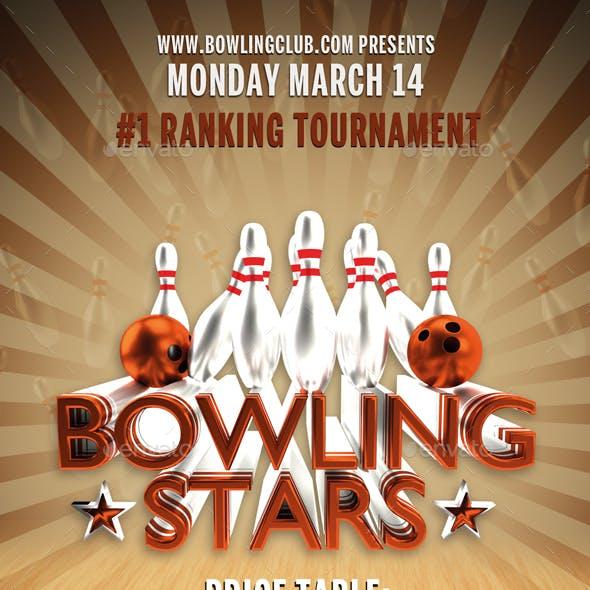 Bowling Stars Flyer