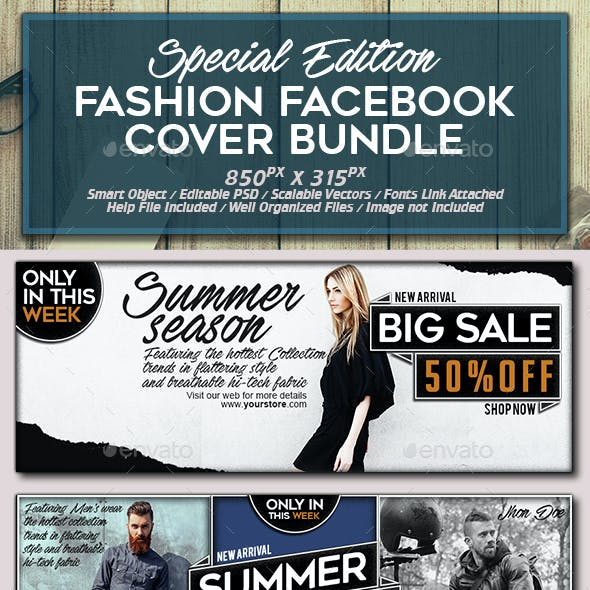 Facebook Fashion Cover Bundle