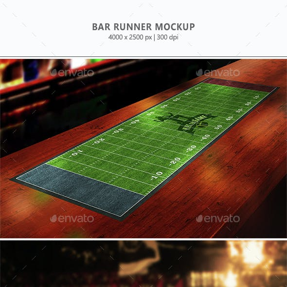 Bar Runner Mock-up