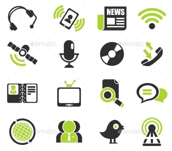 Communication Icons - Icons