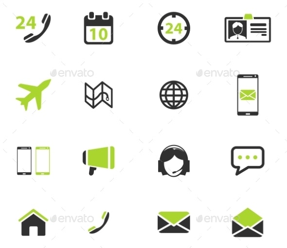 Contacts Simply Icons - Icons