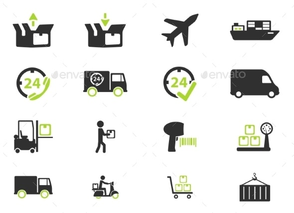 Delivery Simply Icons - Icons