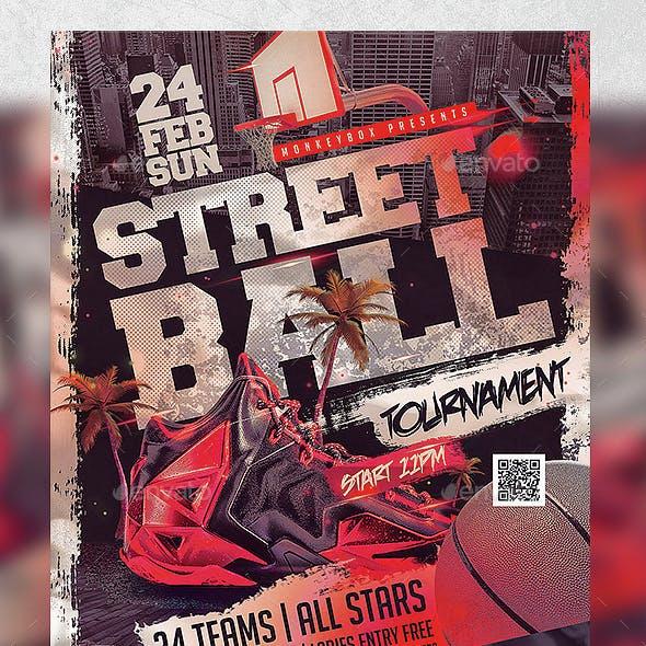 Flyer Streetball Template