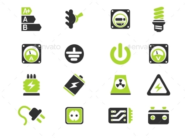 Electricity - Icons