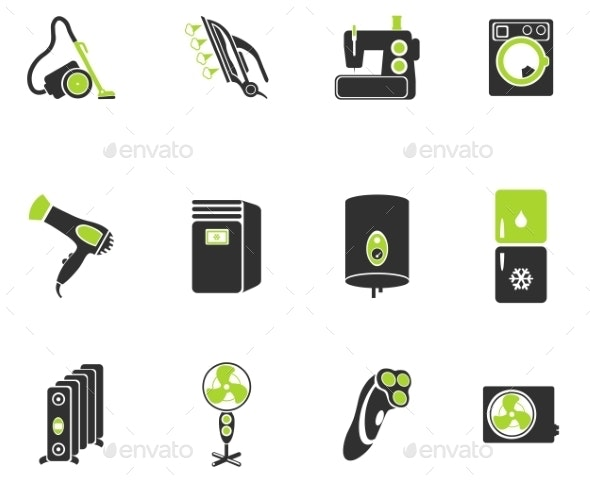 Home Applicances Simply Icons - Icons