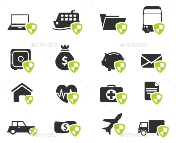 Insurance Simply Icons - Icons