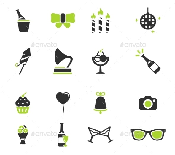 Party Simply Icons - Icons