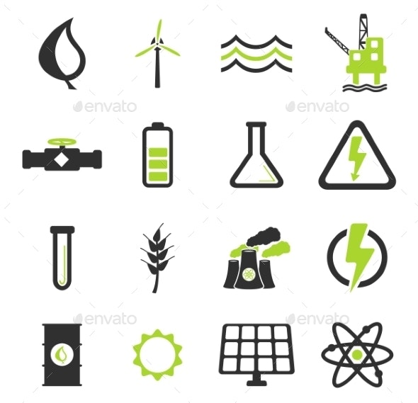 Power Generation Simply Icons - Icons