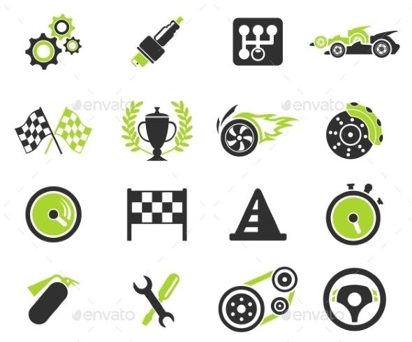 Racing Icons - Icons
