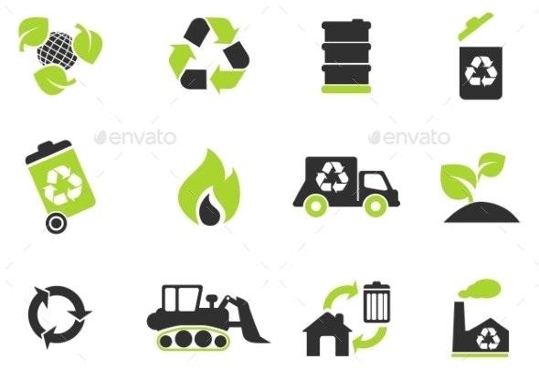 Recycle Symbols - Icons