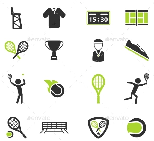 Tennis Simply Icons - Icons