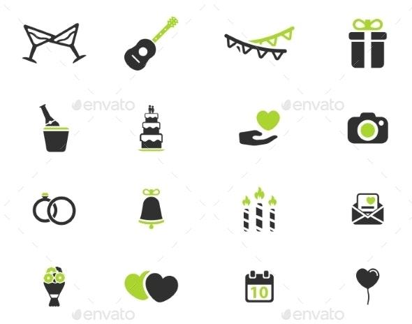 Wedding Simply Icons - Icons