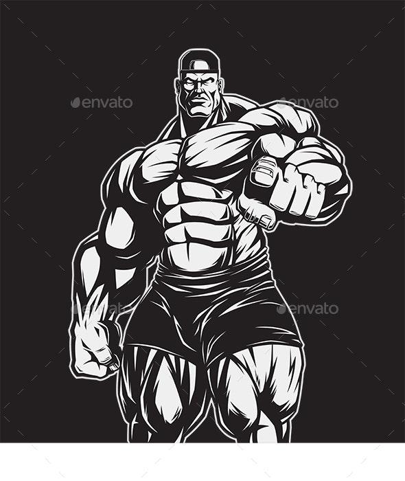 Man of Iron - Sports/Activity Conceptual