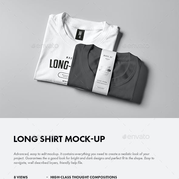 Long Shirt Mock-up