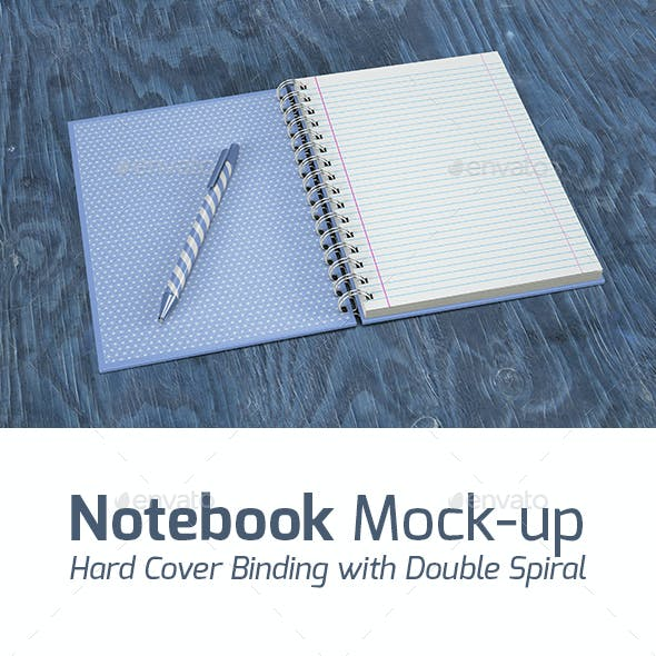 Notebook Mock-up