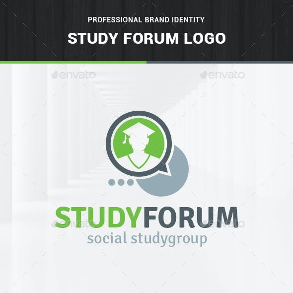 Study Forum Logo Template
