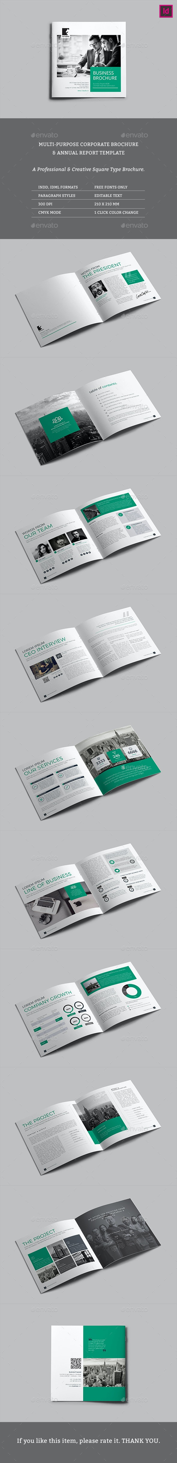 Square Access Multipurpose Brochure - Corporate Brochures