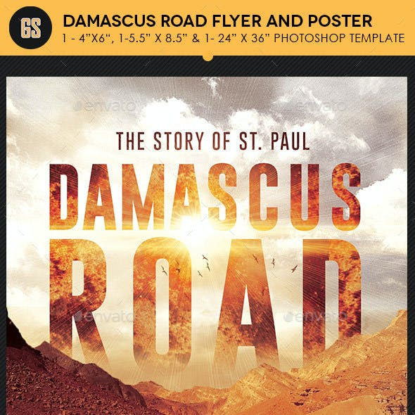 Damascus Road Flyer Poster Template