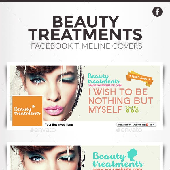 Facebook Timeline Cover - Beauty treatments