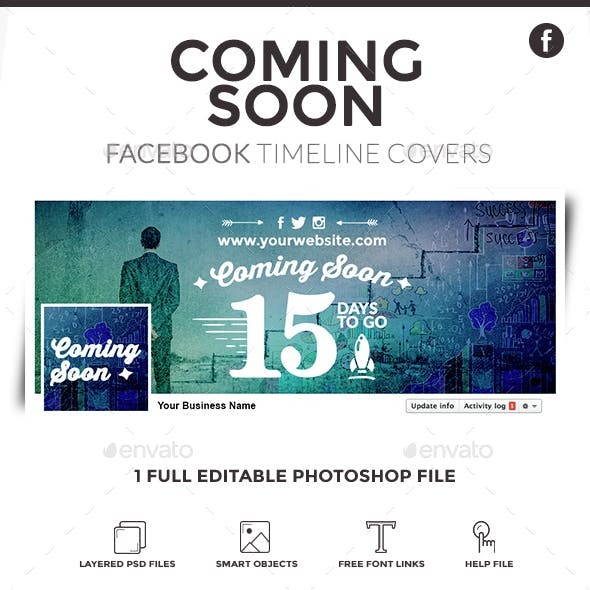 Facebook Timeline Cover - Coming Soon