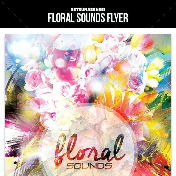 Floral Sounds Flyer