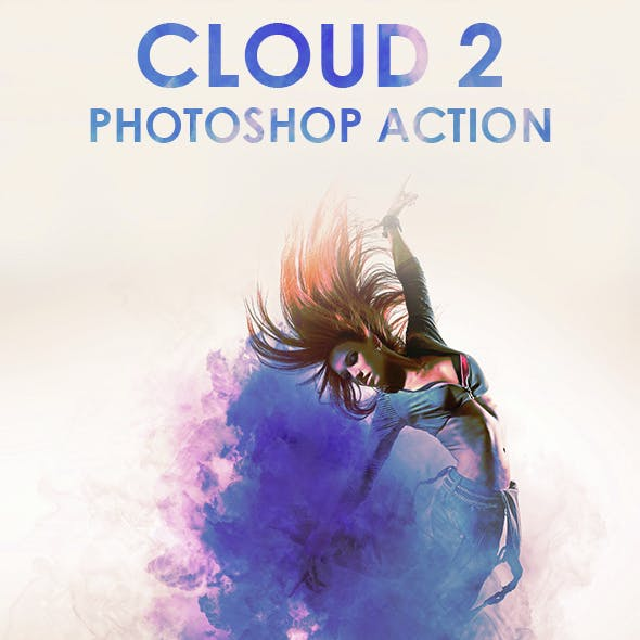 Cloud 2 Photoshop Action